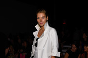 Jessica Hart Cropped Jacket