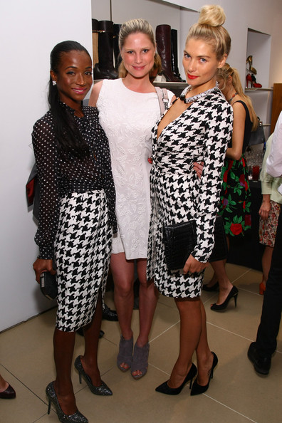 Ferragamo's Black And White Fete To Celebrate Fashions Night Out, Benefiting Lincoln Center Institute