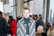 Jessica Hart Tweed Coat