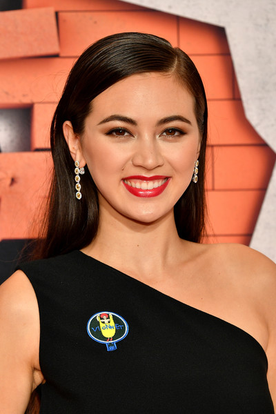 Jessica Henwick Dangling Gemstone Earrings