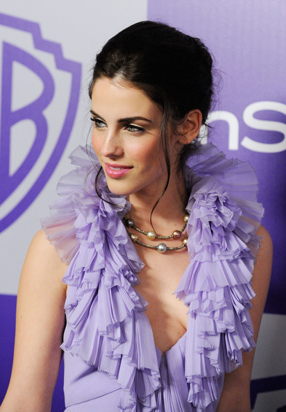 Jessica Lowndes Messy Updo