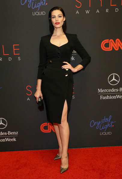 Jessica Pare Little Black Dress