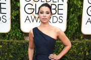 Jessica Parker Kennedy One Shoulder Dress