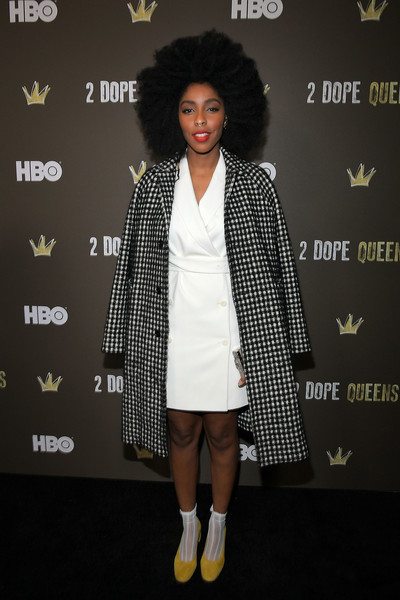 Jessica Williams Printed Coat