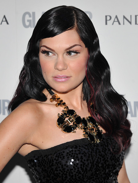 Jessie J Black Statement Necklace