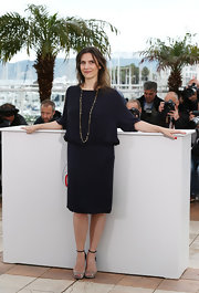Geraldine Pailhas' drop-waist frock looked retro chic at the Cannes film festival.