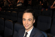 Jim Parsons Striped Tie