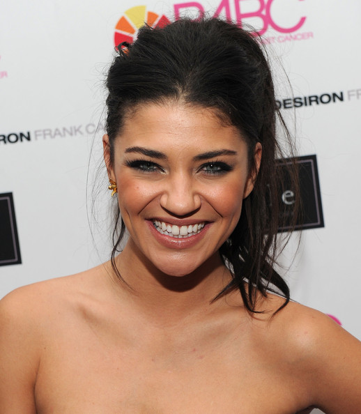 More Pics of Jessica Szohr Gold Chronograph Watch (1 of 21) - Jessica Szohr Lookbook - StyleBistro