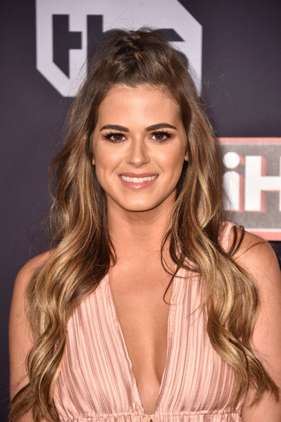 JoJo Fletcher Half Up Half Down