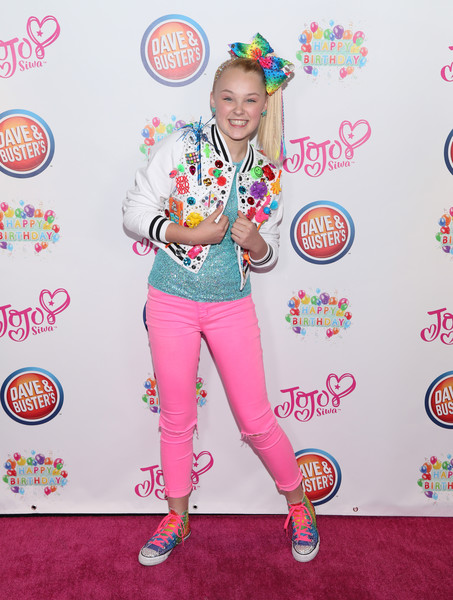 JoJo Siwa Canvas Sneakers [talent show,pajamas,costume,talent show,performance,pajamas,jojo siwa,costume,performance,california,hollywood,dave busters,birthday party]