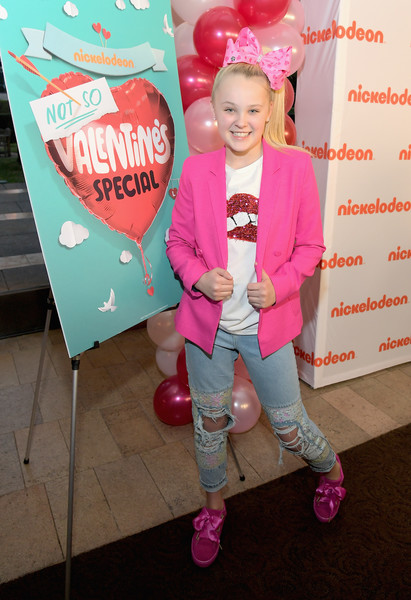 JoJo Siwa Ripped Jeans [pink,footwear,fun,party,happy,event,child,shoe,balloon,smile,jojo siwa,special,not so valentine,dancer,not so valentines special,los angeles,california,nickelodeon]
