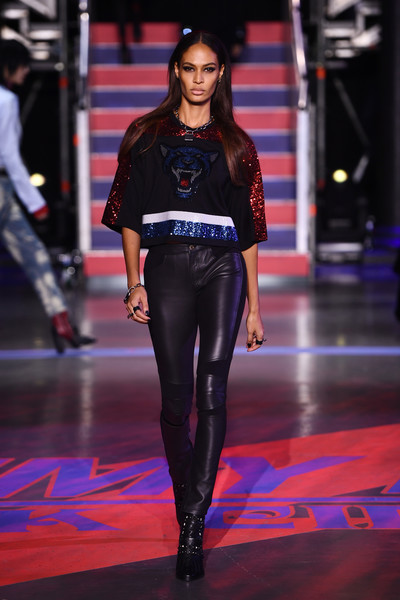 Joan Smalls Studded Boots