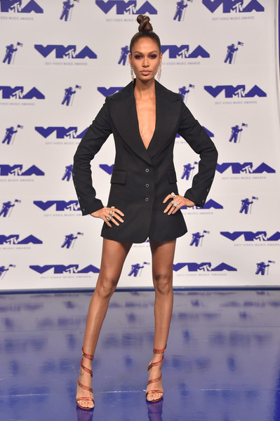 Joan Smalls Tuxedo Dress
