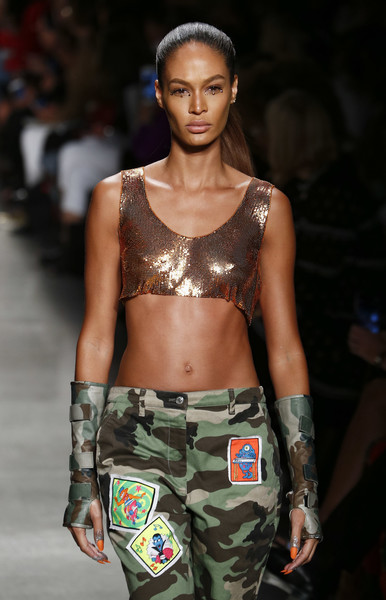 Joan Smalls Fingerless Gloves