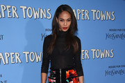 Joan Smalls Mini Skirt