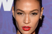 Joan Smalls Red Lipstick
