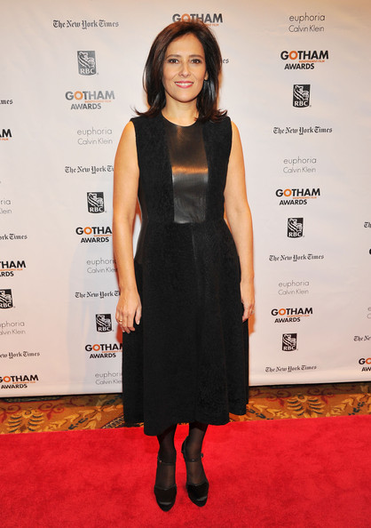 Joana Vicente Little Black Dress [red carpet,little black dress,dress,flooring,formal wear,carpet,shoulder,fashion,cocktail dress,fashion model,outerwear,joana vicente,new york city,cipriani wall street,ifp,annual gotham independent film awards]