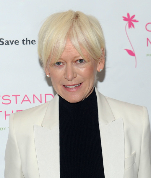 Joanna Coles Short Cut With Bangs [hair,blond,face,hairstyle,forehead,lip,human,hair coloring,suit,bangs,outstanding mother awards,new york city,the pierre hotel,chief,editor,cosmopolitan joanna coles]