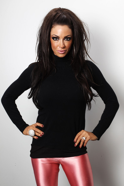 Jodie Marsh Turtleneck