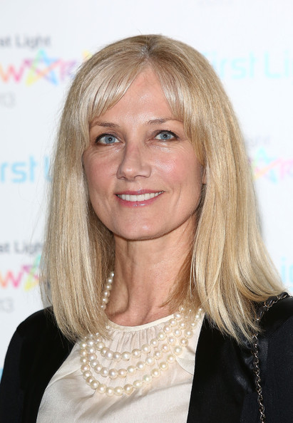 Joely Richardson Medium Straight Cut with Bangs