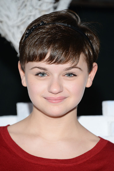 Joey King Pixie [hair,face,hairstyle,eyebrow,chin,forehead,bangs,lip,cheek,pixie cut,nolan gould,guests,joey king,long beach,california,queen mary,sierra club,chill,annual holiday event]