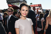 Jordana Brewster Leather Dress