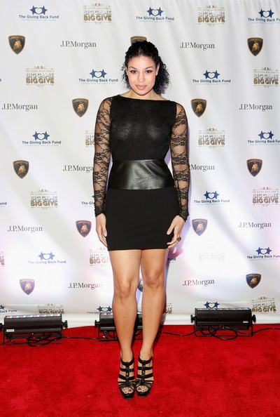 Jordin Sparks Little Black Dress