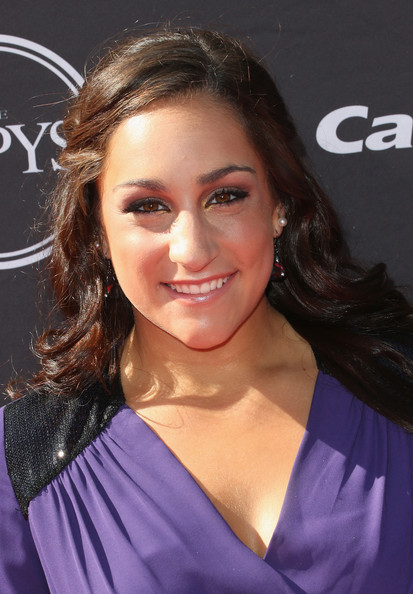 Jordyn Wieber Half Up Half Down