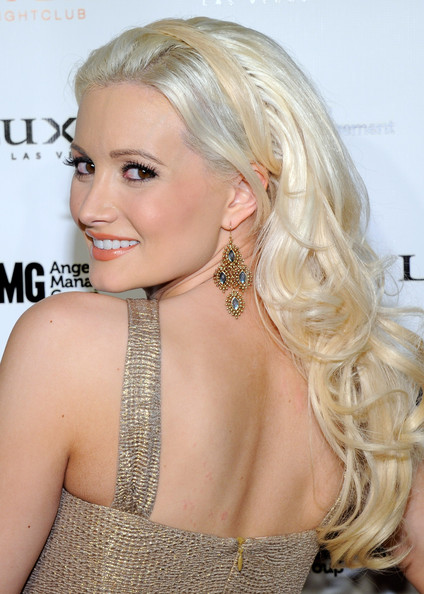 More Pics of Holly Madison Dangling Gemstone Earrings (1 of 54) - Holly Madison Lookbook - StyleBistro
