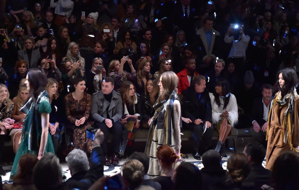 Burberry Prorsum AW 2015 Front Row And Show