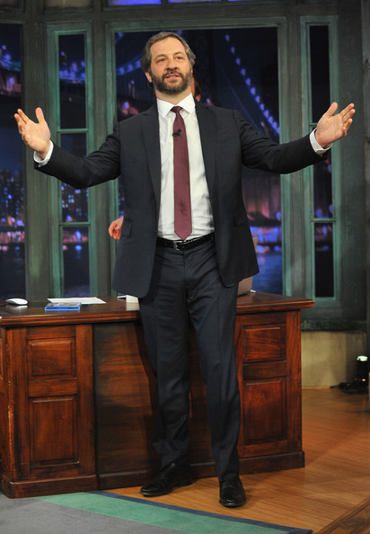 More Pics of Judd Apatow Men's Suit (1 of 9) - Judd Apatow Lookbook - StyleBistro