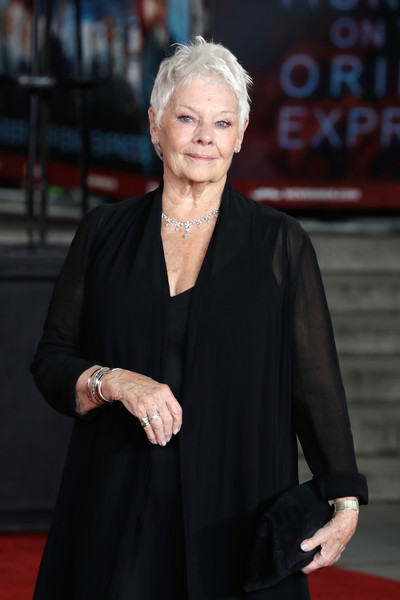 Judi Dench Suede Clutch