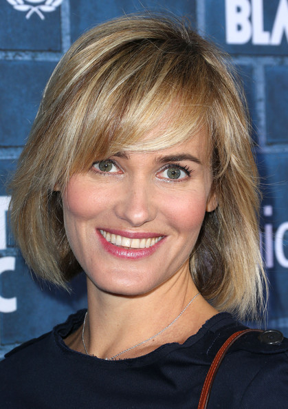 Judith Godreche Bob [hair,face,hairstyle,blond,eyebrow,chin,surfer hair,layered hair,brown hair,bangs,unicef,montblanc,california,los angeles,hotel bel-air,host pre-oscar brunch celebrating their limited edition collection - arrivals,judith godreche]