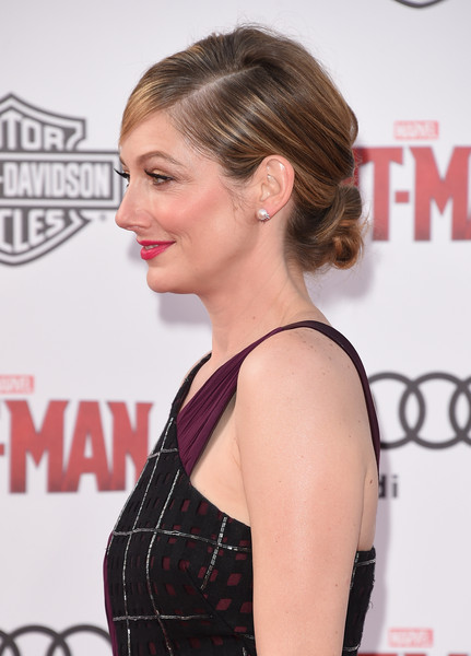 Judy Greer Twisted Bun