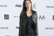 Julia Restoin-Roitfeld Leather Jacket