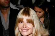 Julia Stegner Long Straight Cut with Bangs