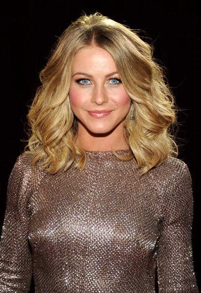 Julianne Hough Long Wavy Cut