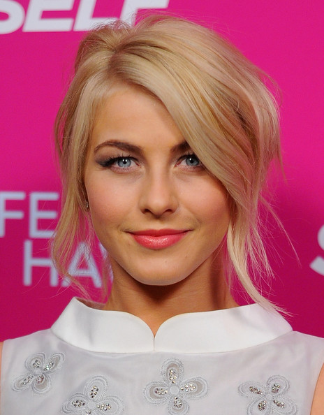 Julianne Hough Messy Updo