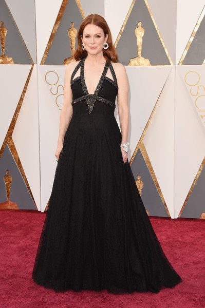 Julianne Moore Lace Dress