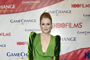 Julianne Moore's Gorgeous Green Velvet Dress