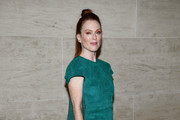 Julianne Moore Leather Purse