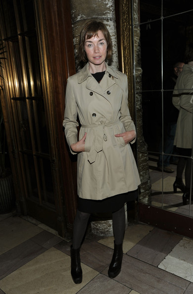 Julianne Nicholson Trenchcoat