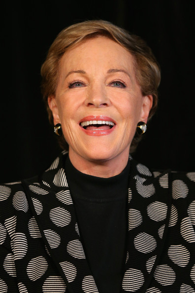 Julie Andrews Short Side Part [face,hair,facial expression,head,chin,eyebrow,nose,hairstyle,cheek,smile,julie andrews,media call,media,australia,sydney,an evening with julie andrews,press conference,tour]
