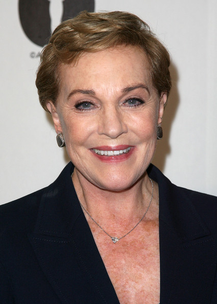 Julie Andrews Short Side Part [hair,face,hairstyle,eyebrow,chin,blond,forehead,lip,white-collar worker,premiere,julie andrews,beverly hills,california,academy of motion picture arts and sciences,evening with blake edwards]