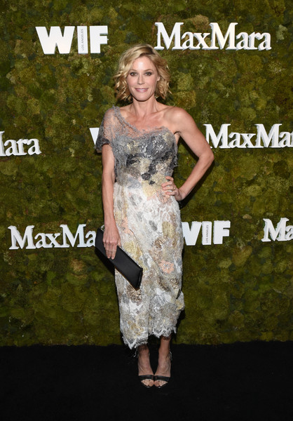 Julie Bowen One Shoulder Dress