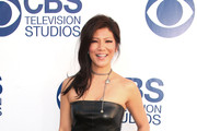 Julie Chen Leather Dress
