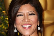 Julie Chen Loose Ponytail