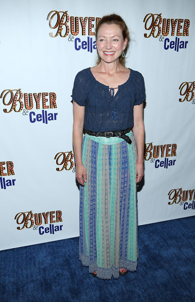Julie White Long Skirt