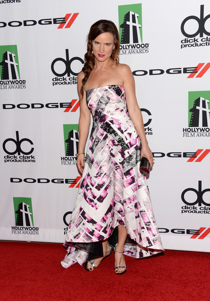 Juliette Lewis Strapless Dress