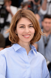 Sofia Coppola looked lovely with her classic bob at the 2014 Cannes Film Festival jury photocall.